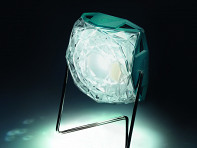 Diamond Solar Powered Light