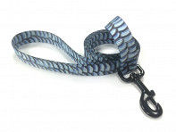 Fish Skin Print Dog Leash