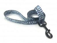Wingo Belts: Fish Skin Print Dog Leash