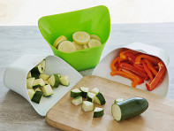 ChopTainer: Cutting Board Extension Bin - Case of 16