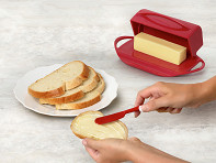 Flip-Top Butter Dish Starter Kit - Case of 12