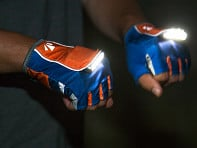 MangataLites: Rechargeable Lighted Gloves - Sample