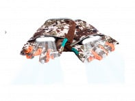 Rechargeable Lighted Camo Gloves - Case of 12