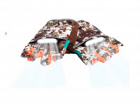 MangataLites: Rechargeable Lighted Camo Gloves - Case of 12