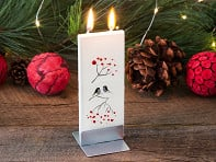Flatyz: Handmade Holiday Flat Candle - Case of 7