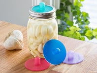 Masontops: Waterless Airlocks for Mason Jar Fermentation - Case of 6