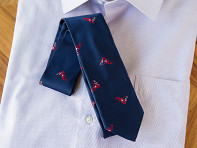 Soxfords: Embroidered Silk Ties - Sample