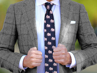 Soxfords: Embroidered Ties