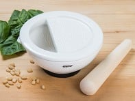 Suri: Porcelain Mortar & Pestle - Case of 9