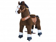 PonyCycle: Ride-On Horse - Medium - Brown