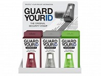 Guard Your ID: X Wide Advanced Roller Filled Display - Case of 12