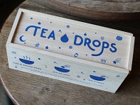 Tea Drops: Wooden Gift Box - 8 Drops