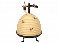 Self-Extinguishing Coil Candle - Beehive - Case of 4
