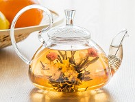 Flower Pot Tea Company: Glass Teapot