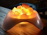 Serenity Himalayan Salt Rock Lamp