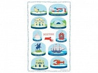 Snow Globe Towels - Case of 12