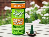Murphy's Naturals: Mosquito Repellent Incense Cones with Ceramic Burning Dish - Case of 12