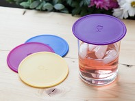 Silicone Outdoor Drink Covers - Set of 2 - Case of 8