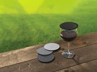 Drink Tops™: Silicone Outdoor Drink Covers - Set of 4 - Case of 6