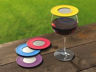 Drink Tops™: Ventilated Wine Drink Covers - Set of 4 - Case of 6
