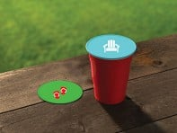Drink Tops™: Tap & Seal Drink Covers - Set of 2 - Case of 6