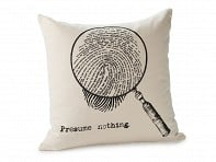 Book Themed Pillow Cover - Sherlock Holmes
