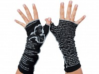 Book Themed Writing Gloves