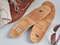 Honey Soles: Natural Cork Insoles