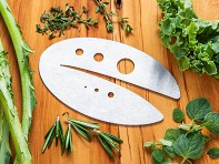 Raw Rutes: Kale Razor and Herb Stripping Tool - Sample
