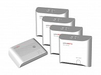 Safer Alarms: Safer Home Alarm System Multi-Room 4 Pack - Case of 3