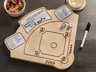 Across The Board: Wooden Tabletop Baseball Game - Case of 12