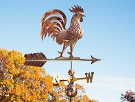 Good Directions: 100% Copper Large Rooftop Weathervane