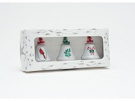 3-Pack Holiday Ornament