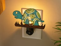 Whimsies: Reclaimed Metal Animal Night Light