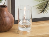 Firefly Fuel: Ethereal Glass Oil Lamp - Case of 12