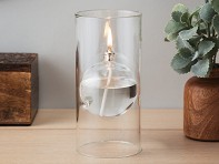 Transcend Glass Oil Lamp - Funnel & Oil Gift Set - Case of 6