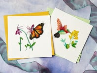 Quilling Card: Animals and Insects - Case of 6