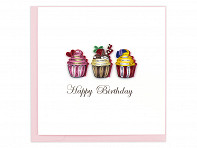 Quilling Card: All Occasion Cards - Case of 6