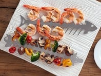 Slide & Serve BBQ Skewers - Set of 2 - Case of 6