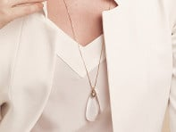 Moderne Monocle: Amelia Monocle Necklace