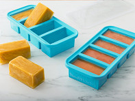 Souper Cubes: Soup & Stock Silicone Freezer Tray - 2 Pack - Case of 12