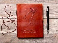 Soothi: Handcrafted Leather Zodiac Journal