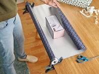 Wrap Buddies: Tabletop Gift Wrapping Tool