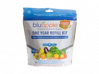 BluApple: 12 Month Refill Kit with Activated Carbon - Case of 24
