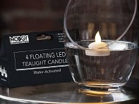 LED Water-Activated Candles - Set of 4