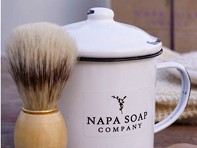 Napa Soap Company: Enamel Shaving Gift Set - Case of 3