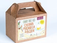 Urban Cheesecraft: Dairy-Free Cheddar, Mozzarella & Ricotta DIY Kit - Case of 12