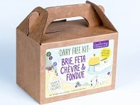 Urban Cheesecraft: Dairy-Free Brie, Feta, Chevre & Fondue DIY Kit - Case of 12