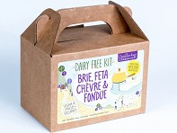 Dairy-Free Brie, Feta, Chevre & Fondue DIY Kit - Case of 12
