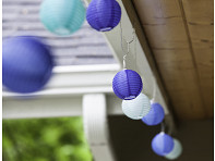 Allsop Home & Garden: Soji String Lights - Watery Blues - Case of 6